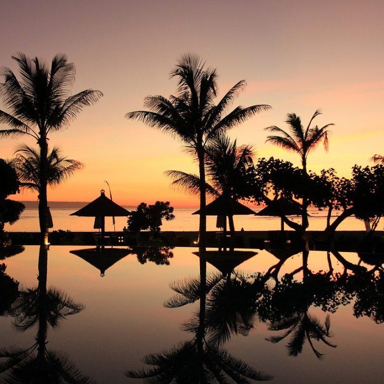 Op vakantie in Bali